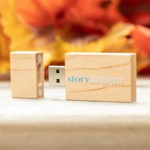 Natural Wooden USB Flash Drive