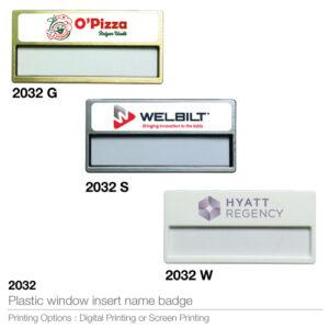 Window Insert Name Badges (Best selling in UAE )