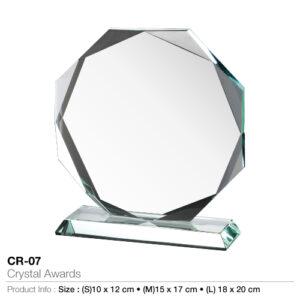 Crystal awards – 07