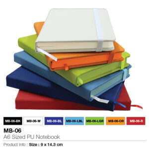 Promotional Notebook-A6 size