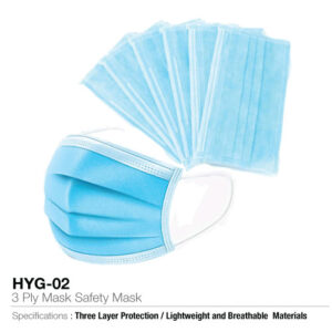 3 Ply Safety Mask-Disposable face masks
