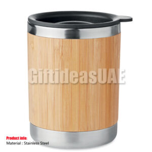 Tumbler with bamboo case-Corporate gift 9937